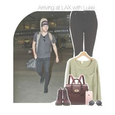"""Arriving at LAX with Luke"" by antisocialmuke ❤ liked on Polyvore featuring Topshop, Mulberry, Dr. Martens, women's clothing, women's fashion, women, female, woman, misses and juniors"