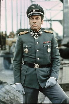 A Bridge Too Far ~ Maximilian Schell portrayed General der Waffen-SS Wilhelm Bittrich CO of II SS Panzer Corps