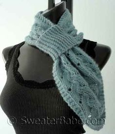 Knitting Pattern For Pull Through Scarf : Pinterest   The world s catalog of ideas