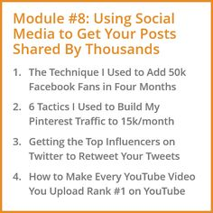 Using Social Media to Get Your Blog Posts Shared by Thousands