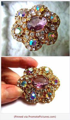 181bdb124e578 1511 Best Vintage Rhinestone Jewelry images in 2019 | Rhinestone ...