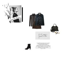 """""""November"""" by robotfuel ❤ liked on Polyvore featuring L'Autre Chose, Yves Saint Laurent, Zara, N°21, Botkier, Dolce&Gabbana and Topshop"""