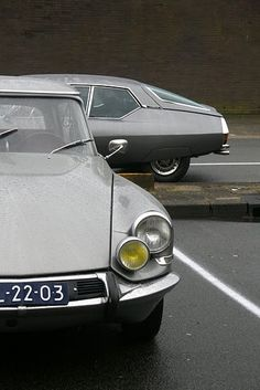 Citroën DS 1955 and Citroën SM