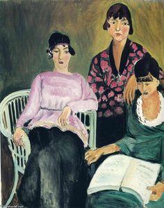 'Three Sisters', 1917 von Henri Matisse (1869-1954, France)