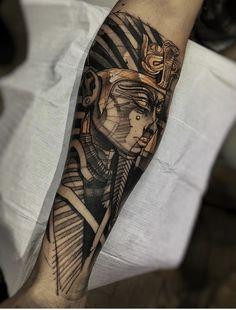 """""""Tudo é duplo, tudo tem dois pólos, tudo tem o seu oposto. O igual e o desigual . - Tattoos and Piercings - God Tattoos, Forearm Tattoos, Body Art Tattoos, Tattoos For Guys, Script Tattoos, Arabic Tattoos, Dragon Tattoos, Tatoos, Osiris Tattoo"""