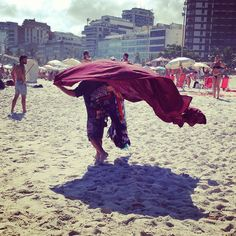"""le superman tropical"", Praia de Ipanema — 2013"
