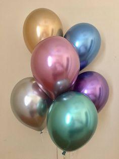 """20PCS 12/"""" Folha De Látex Confete Balões Festa Galinha Aniversário Casamento Chá De Bebê Uk"""