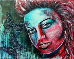 Figuren - Vero Fineart - Malerei in Aquarell, Acryl, Mixed Media