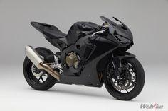 On sale today Honda's exclusive track-edition. Only 40 to be built to order. Honda Motorbikes, Motos Honda, Honda Bikes, Honda Cbr 1000rr, Triumph Speed Triple, Moto Bike, Motorcycle Garage, Ducati, New Honda