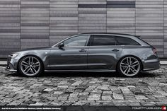 We're big fans of Neidfaktor Hamburg, for their OE quality tailoring of models like the Audi R8. Turns out they're expanding and this RS 6 Avant takes their work to a whole new level.