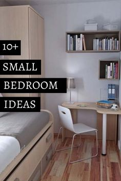 How to Decorate a Small Bedroom -- Visit the image link for more details. #BedroomIdeasforSmallRooms