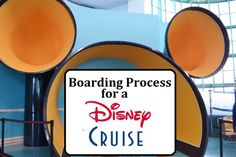Here is what you can expect for the Boarding Process for Disney Cruise out of Cape Canaveral. Lots of other tips and useful cruise information- Disney Insider Tips