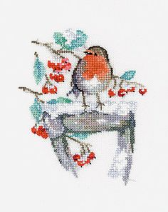 Watching Cross Stitch Kit By Heritage Crafts