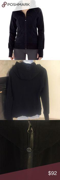Lululemon Scuba Jacket Black. Excellent condition. Rarely worn. Cold wash, air dried. Size 12 lululemon athletica Jackets & Coats
