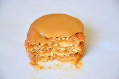 Palavras que enchem a barriga: Bolo de bolacha com butterscotch e o fim de uma lu... Butterscotch Cookies, Pastry Cake, Chocolate, Cheese, Cooking, Breakfast, Blog, Pastries, Sprinkle Cakes