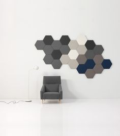 Sancal hexagon acoustic panels