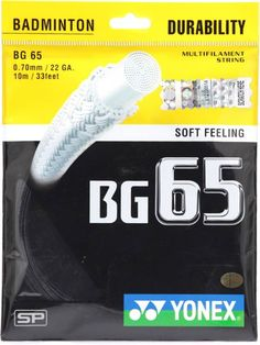 Check out our new Yonex BG65 badminton strings review! Fast Growing, Badminton, Amazon, Check, Riding Habit