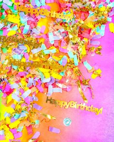 It's my birthday confetti and Holiday Fab Finds for holiday shopping! Confetti Bars, Diy Confetti, Birthday Box, Birthday Parties, Birthday Stuff, Cute Diys, For Your Party, Birthday Decorations, Holiday Fun