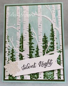 A Woodsy Silent Night by TexasGrammy - Cards and Paper Crafts at Splitcoaststampers