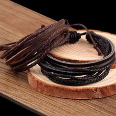 Multilayer Leather Bracelets For Men Women Charm Europe PU Cord Cuff Bangle Link Chain Wristbands Friendship Jewelry Accessories(China) Woven Bracelets, Bracelets For Men, Fashion Bracelets, Leather Bracelets, Link Bracelets, Fashion Jewelry, Bangles, Punk Jewelry, Jewelry Accessories