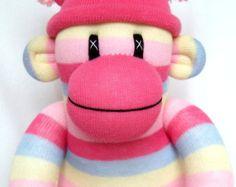 pinky sock monkey