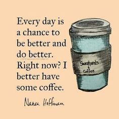 Lol...a motivational quote and coffee humor combined. #CoffeeMotivation #coffeequotes
