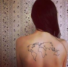 #Mundo #World #Tatuaje