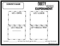 Free! A science experiment that demonstrates how plants \