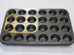 Nonstick Mini Muffin Pan 24 Muffins *** For more information, visit now : Muffin and Cupcake Pans