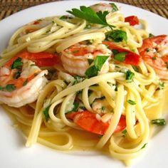 http://www.foodnetwork.com/recipes/tyler-florence/shrimp-scampi-with-linguini-recipe/index.html