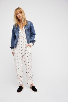 Shop our Star Eyes Jumpsuit at Free People.com. Share style pics with FP Me, and read & post reviews. Free shipping worldwide - see site for details.