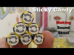 """#70 Sticky Candy -  How To Making """"Sound Skool"""" Sticky Candy In Cambodia Sticky Candy, Cambodian Food, Candy Games, Candy Cart, Cherry Candy, Candy Floss, Candy Making, Rock Candy, Candy Store"""