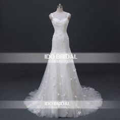 Find More Wedding Dresses Information about Real Photo Ivory Lace Applique Crystal Beaded Open Back Floral Luxury Wedding Dress Bridal Gown vestidos de novia sirena ASAW07,High Quality dresse shoes,China dress double Suppliers, Cheap dress magazine from Ido bridal on Aliexpress.com