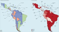 Cancer and healthcare metrics in countries of Latin America   The Lancet