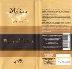 tablette de chocolat lait dégustation pralus lait mélissa criollo 45