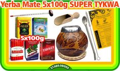 erfüllt: Yerba-Mate-mit-5x100g-Set-mit-einer-Kalebasse-Beste-Auswahl