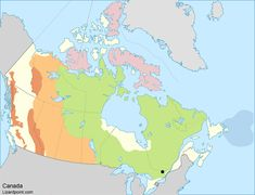 Test your geography knowledge: Canada: Physical features Map Quiz, Geography Quiz, Physics, Knowledge, Canada, This Or That Questions, Dog, Learning, Diy Dog