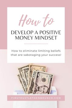 Own your success and click here to find out how to develop a positive money mindset. Find out my top tips to instill a positive money mindset and accomplish your financial goals. #debtpayoff #getoutofdebt #debtfree | manifest paying off debt | manifest debt free | manifest financial freedom | how to manifest financial freedom | debt free mindset | financial freedom mindset | money mindset | pay off debt fast | pay off debt fast tips | get out of debt fast tips