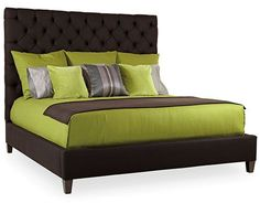 Porter Upholstered Queen Bed - Bernhardt Furniture