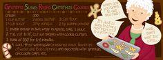 "Grandma Susie""s Rolled Christmas Cookies by Vita Mechachonis, Portsmouth, NH"