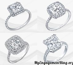 4 beautiful engagement rings - My Engagement Ring