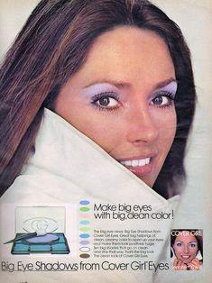 Jennifer O'neill, Cover Girl Makeup, Makeup Ads, Seventeen Magazine, Big Eyes, Girls Eyes, Covergirl, That Way, 1970s