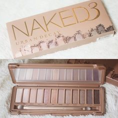 Shut up!  Urban Decay Naked 3 palette! 12 never-before-seen (and insanely gorgeous!) ROSE-hued neutrals.