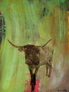Hill Country by Austin artist Karen Salem.  48 x 36