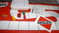 Vintage c.1989 Sniglets board game.  Based on the by BuyfromGroovy