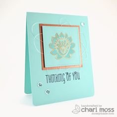 February Guest Designer: Chari Moss  - Products and inspiration from Neat And Tangled: http://neatandtangled.blogspot.com/