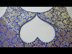 Latest And Easy Back/Front Boat Neck Design For Suit/Blouse Cutting And Stitchin. - Latest And Easy Back/Front Boat Neck Design For Suit/Blouse Cutting And Stitching – Latest And E - Kurti Back Neck Designs, Latest Blouse Neck Designs, Simple Blouse Designs, Neck Designs For Suits, Saree Blouse Neck Designs, Dress Neck Designs, Designs For Dresses, Designer Blouse Patterns, Stitching