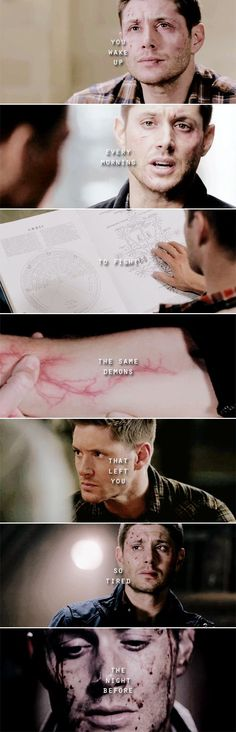 Dean Winchester: …and that, my love, is bravery. #spn