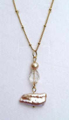 Hey, I found this really awesome Etsy listing at https://www.etsy.com/listing/203106621/handmade-genuine-freshwater-pearl