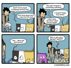 Inoreader - CommitStrip - Blog relating the daily life of web agencies developers